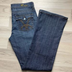 Kut from the Kloth Natalie High Rise Blue Jeans